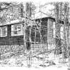 Pine Needles cabin, by Dave Brandon