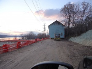 Moving the Shoddy Mill (MN Department of Transportation photo)