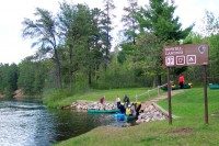 Howell Landing, Namekagon River (NPS photo)
