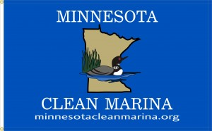 Minnesota Clean Marina Program flag