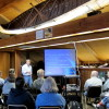 Jim Almendinger presenting at Wild River State Park on Oct. 5, 2013