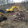 Getting rid of a gully stops significant erosion into the St. Croix River